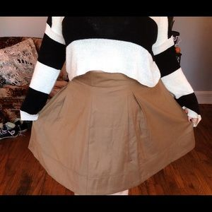 NWT Brown skirt The Limited